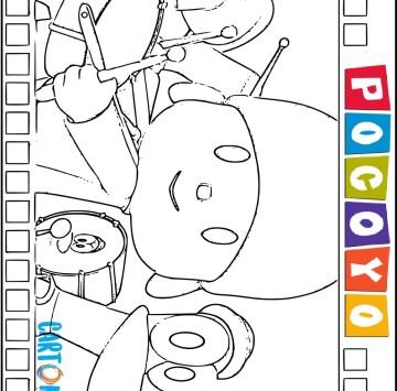 Disegni di Pocoyo da colorare - Cartoni animati