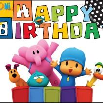 Pocoyo Happy birthday Card Printable - Happy birthday