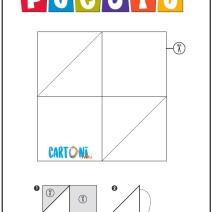 Pocoyo origami - Crea Pato pagina 2 - Attività per bambini