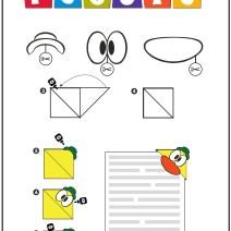 Pocoyo origami - Crea Pato - Attività per bambini