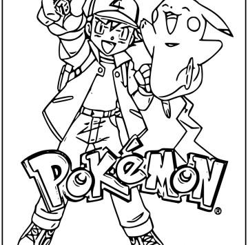 Pokémon da colorare e stampare - Cartoni animati