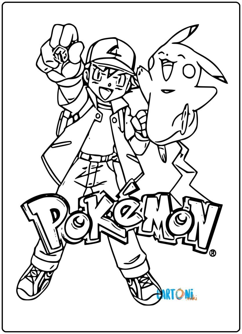 Pokemon Da Colorare E Stampare Cartoni Animati