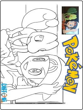 Disegno Pokémon Rubino Omega e Pokémon Zaffiro Alpha