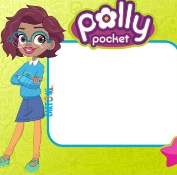 Invito festa compleanno Polly Pocket - Cartoni animati