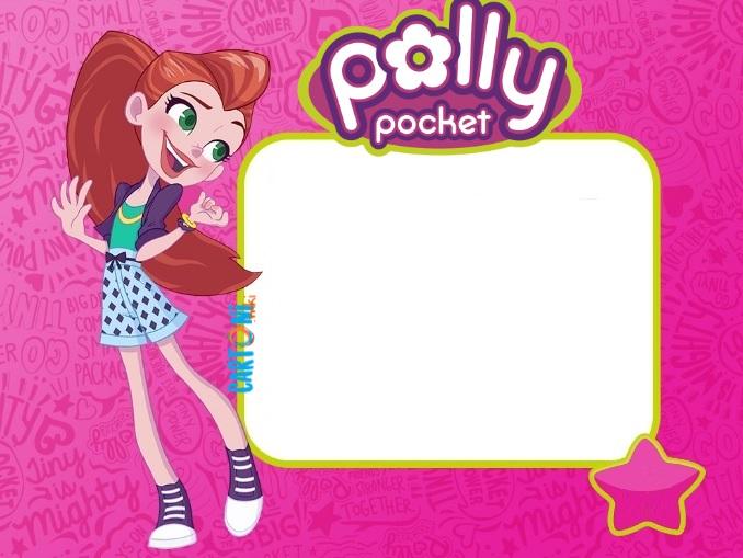 Polly Pocket invito compleanno Lila - Cartoni animati