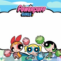 Powerpuff girls Happy birthday - Biglietti di auguri