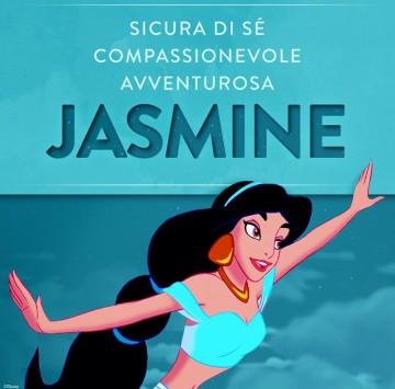 Principesse Disney - Jasmine - Cartoni animati