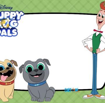 Puppy dog pals Frame - Cartoni animati