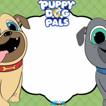 Puppy dog pals - Template - Template