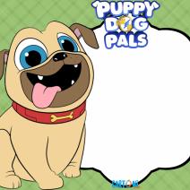 Puppy Dog Pals Frame Bingo - Frame