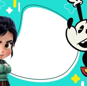 Invito compleanno Ralph spacca Internet - Cartoni animati