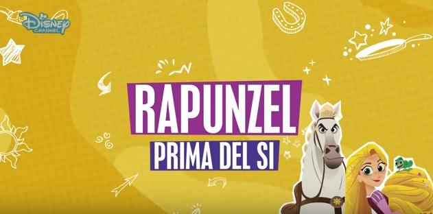 Rapunzel prima del si - Cartoni animati