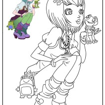 Regal Academy Disegno Joy Ranocchio - Disegni da colorare