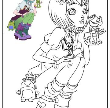 Regal Academy Disegno Joy Ranocchio - Cartoni animati
