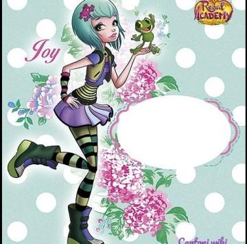 Invito Regal Academy Joy Ranocchio - Cartoni animati