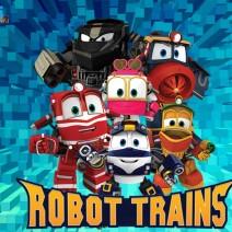 Robot trains - Cartoni animati prescolari