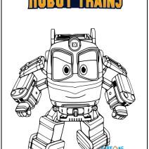 Disegno Robot Trains da stampare - Disegni da colorare