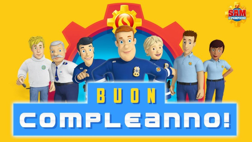 Buon compleanno con Sam il pompiere - Cartoni animati