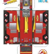 Sam il pompiere stampa e crea Jupiter - Attività per bambini