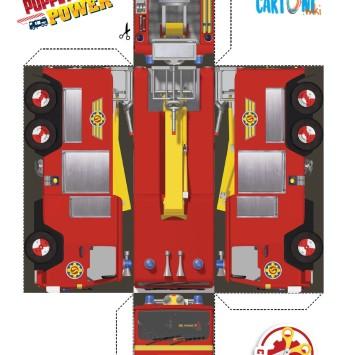 Sam il pompiere stampa e crea Jupiter - Cartoni animati