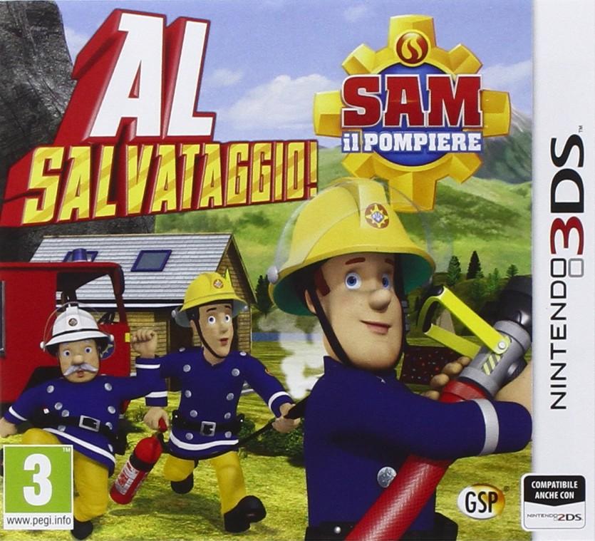 Sam Il Pompiere - Nintendo 3DS - Cartoni animati