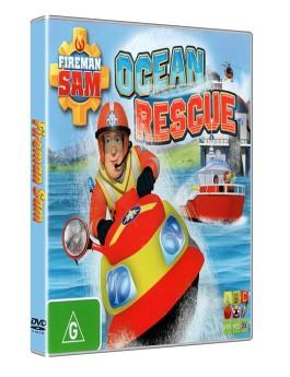 Sam il pompiere salvataggio nell'oceano