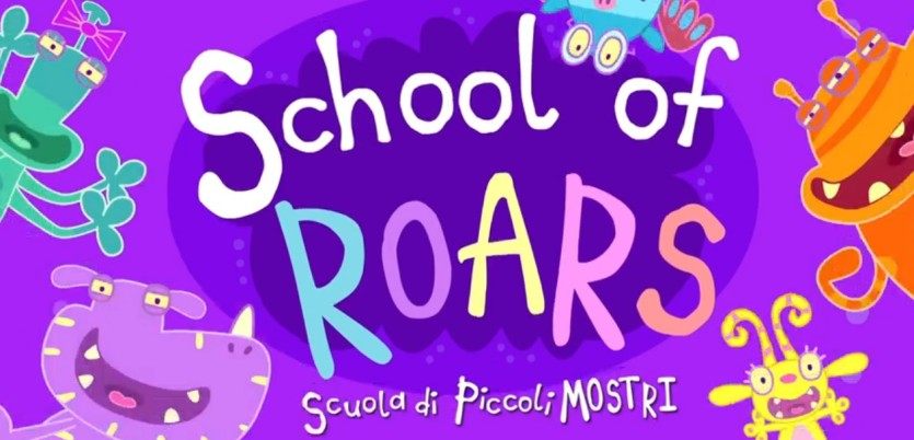 School of Roars - Cartoni animati