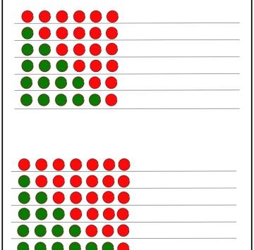 Numeri amici 6 e 7 - Esercizi scuola Primaria classe prima - Cartoni animati