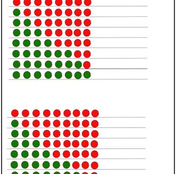 Numeri amici 8 e 9 - Esercizi scuola Primaria classe prima - Cartoni animati