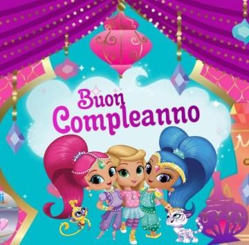 Buon Compleanno da Shimmer and Shine - Cartoni animati