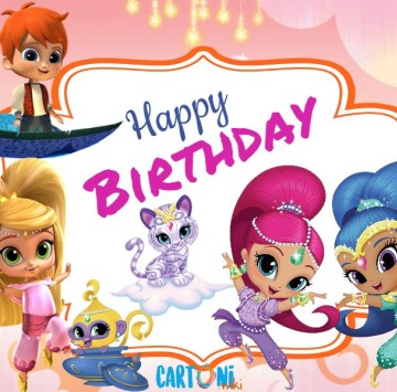 Shimmer and Shine Happy birthday - Cartoni animati