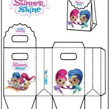 Shimmer and Shine gift Box - Attività per bambini