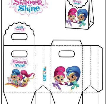 Shimmer and Shine gift Box - Cartoni animati
