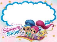 Shimmer and Shine Party ideas - Inviti feste compleanno
