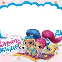 Shimmer and Shine Party ideas - Inviti feste compleanno