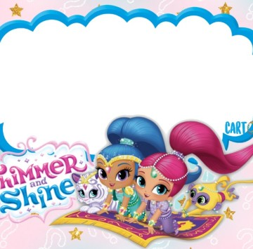 Shimmer and Shine Party ideas - Cartoni animati