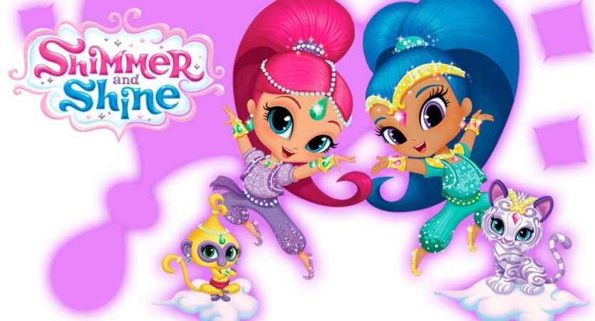 Shimmer and shine cartoni animati