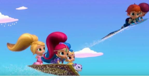 Shimmer and Shine sigla iniziale - Cartoni animati