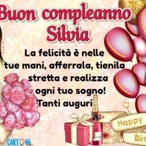 Auguri Silvia per il tuo compleanno - Silvia
