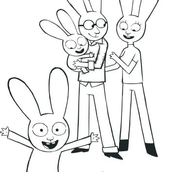 Simone disegni da colorare - Cartoni animati