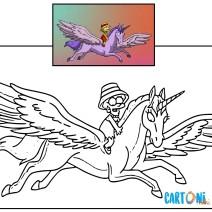 Colora Lisa dei Simpson - Disegni da colorare