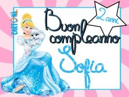 Tanti auguri Sofia 2 anni