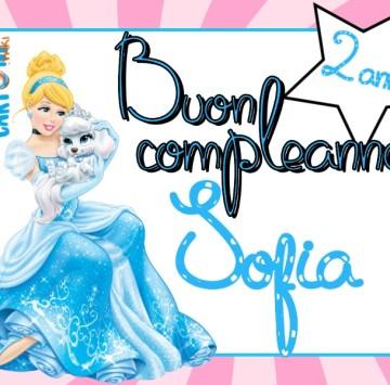 Tanti auguri Sofia 2 anni - Cartoni animati