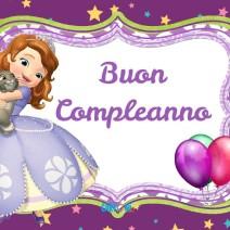 Buon compleanno con Sofia - Buon compleanno