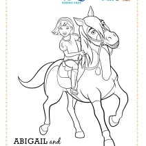 Disegni Spirit Riding Free da stampare - Stampa e colora