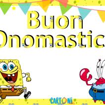 Spongebob Buon onomastico - Buon onomastico