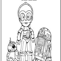 Star wars disegni per bambini - Disegni da colorare