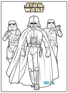 Star Wars disegni da colorare