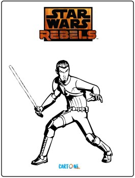 Star Wars Rebels disegni da colorare