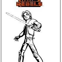 Stampa e colora Star Wars Rebels - Stampa e colora